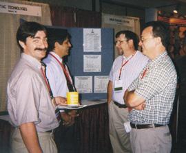 Annual Convention - Tim Bergstresser, Geochemical Testing, Rich Randazzo, Retired, Rich McCracken, Mahaffey Labs, Dave Barrett, Mahaffey Labs