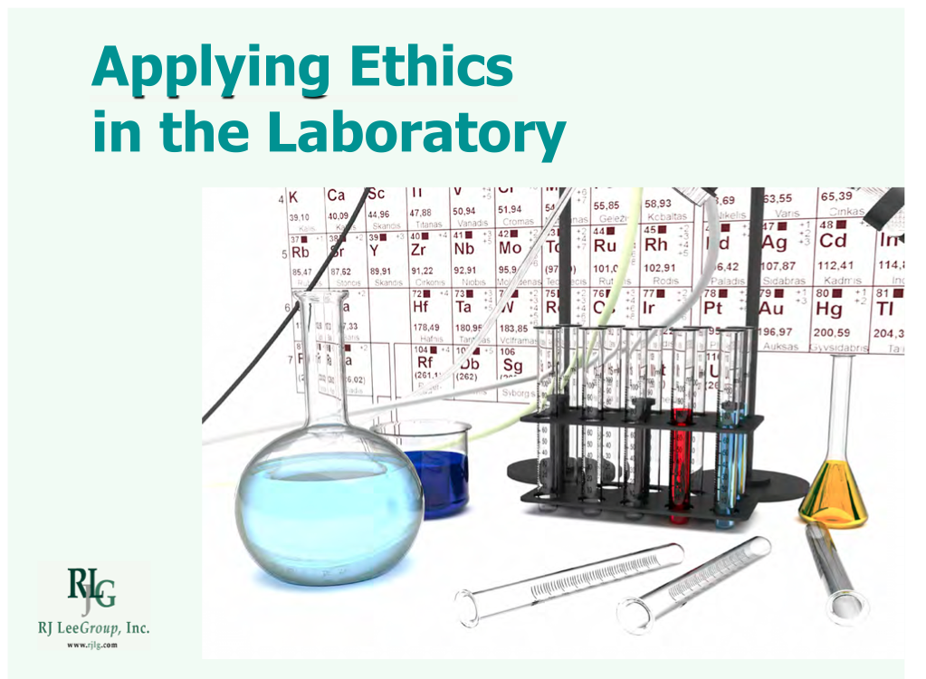 Applying Ethics online course